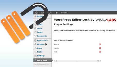 WordPress-editor-lock