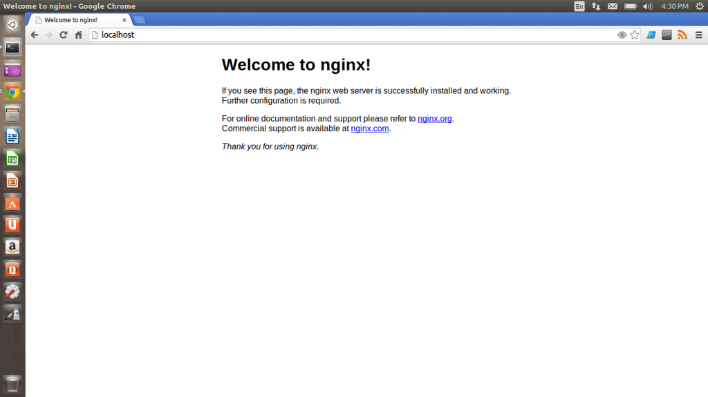 Installing WordPress on Nginx - Screenshot 4