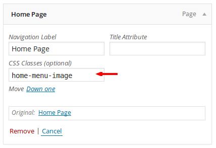 how to add menu class in wordpress