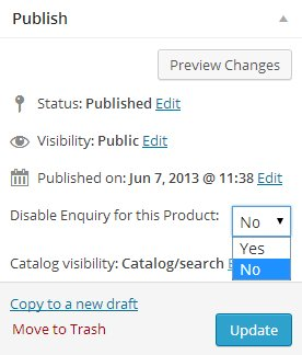 Disable-Product-Enquiry-Pro