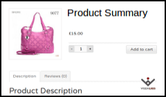 Product Summary WooCommerce