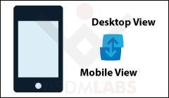 View Desktop Version on Mobile Device