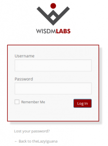 Customized Login Page