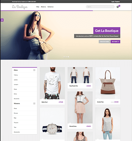 La Boutique WooCommerce Theme