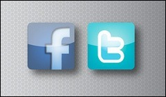 Facebook or Twitter Shares