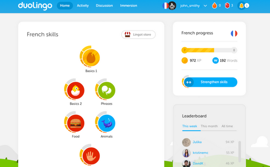Duolingo-Application