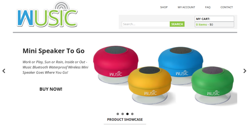 Wusic: WooCommerce Shop Page Customization Image