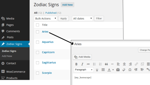 Add a Daily Horoscope Functionality to Your Astrology