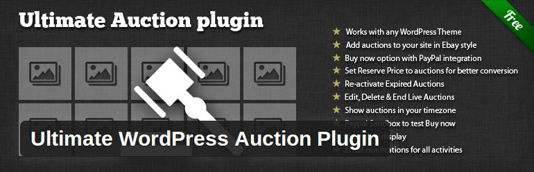 Ultimate-Auction-Plugin