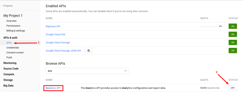 google-analytics-enable-analytics-API