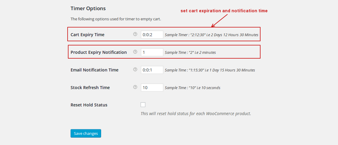 ect-empty-cart-timer-settings