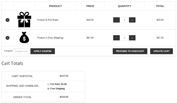 products-different-shipping-woocommerce