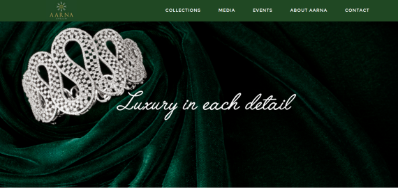 aarna-jewellery-portfolio-website-wordpress