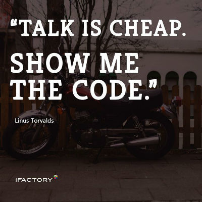 talk-is-cheap-coding-standards