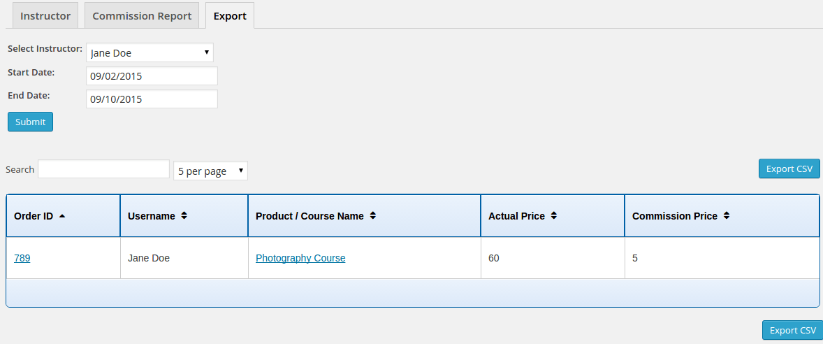 instructor-commission-feature-export-csv