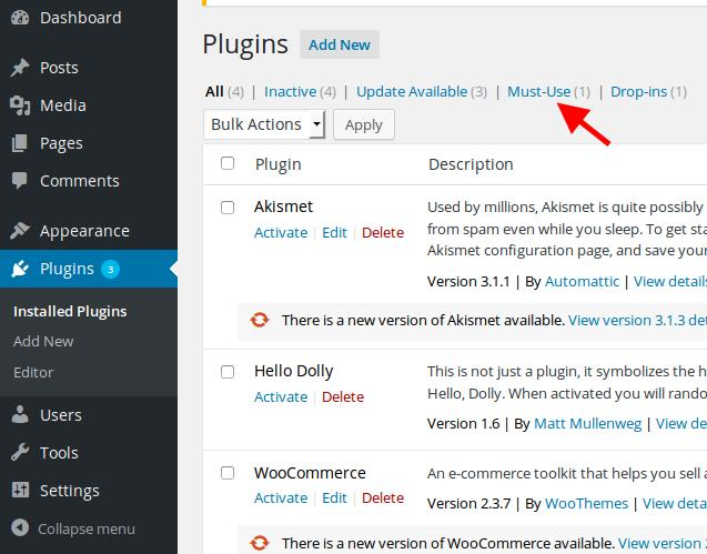 wordpress-must-use-plugins