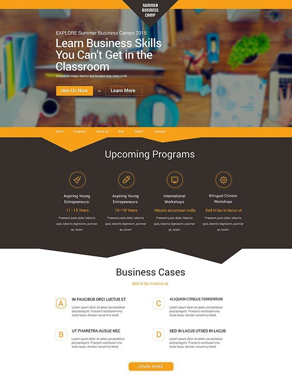business-camp-wp-theme