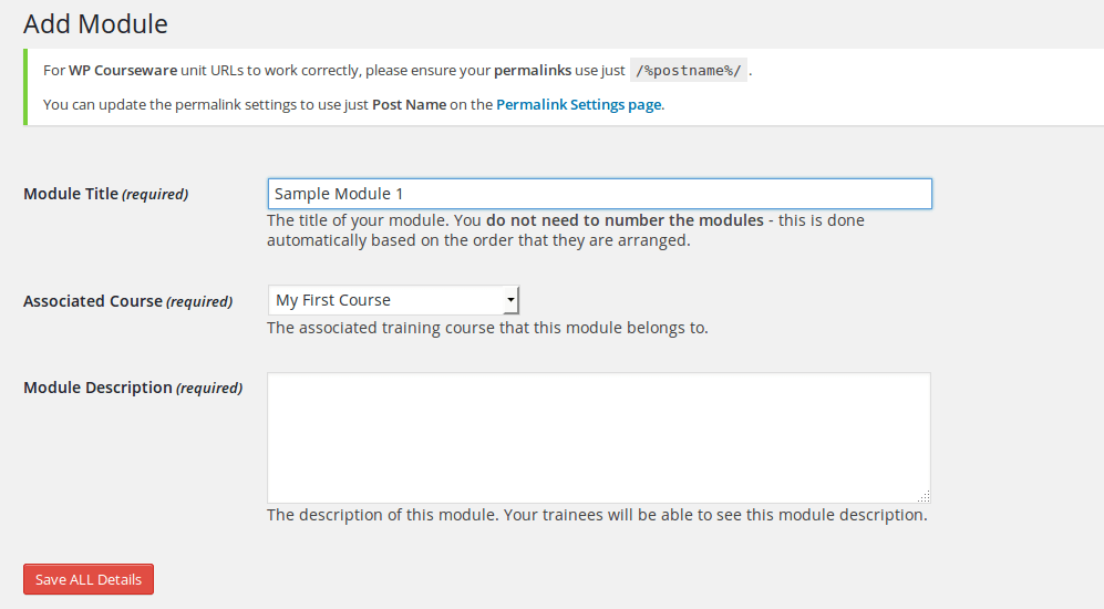 wp-courseware-add-module
