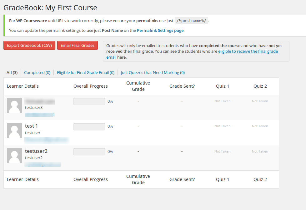 wp-courseware-gradebook