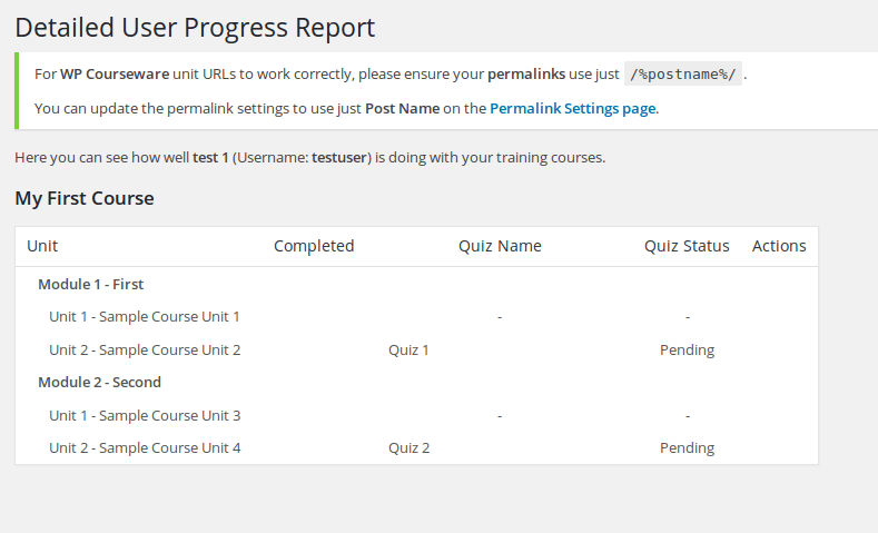 wp-courseware-progress-report