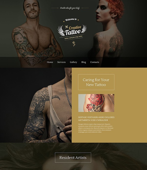 tattoo-studio-theme