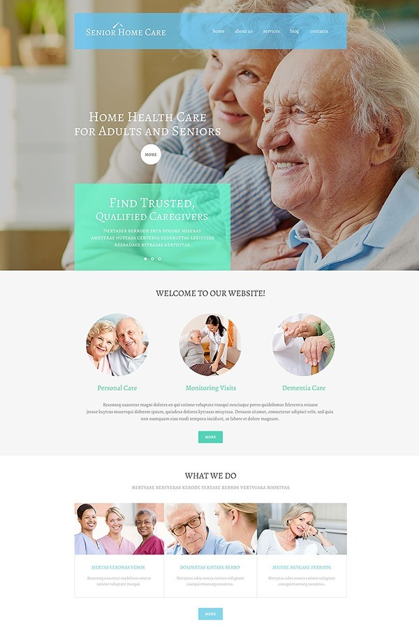 senior-heathcare-theme