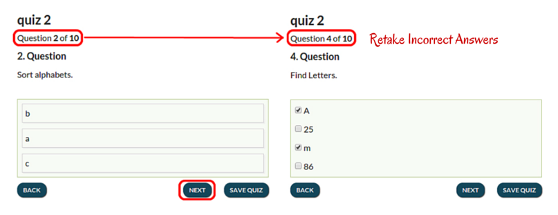 Retake Incorrect Answers
