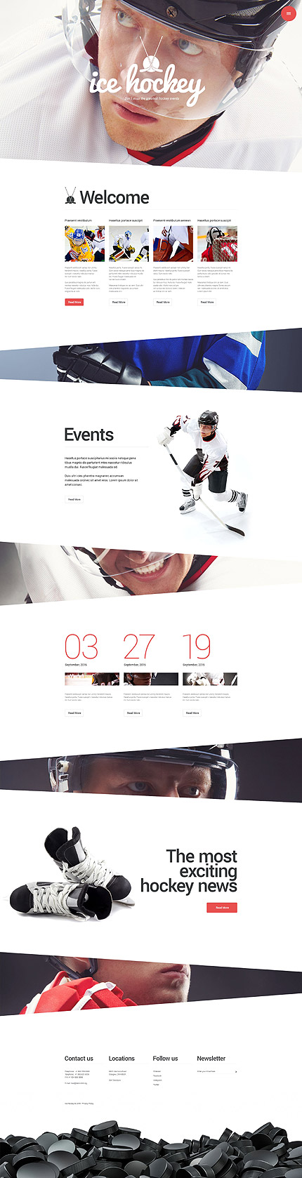 hockey-flat-design