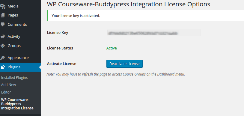 wp-courseware-buddypress-license