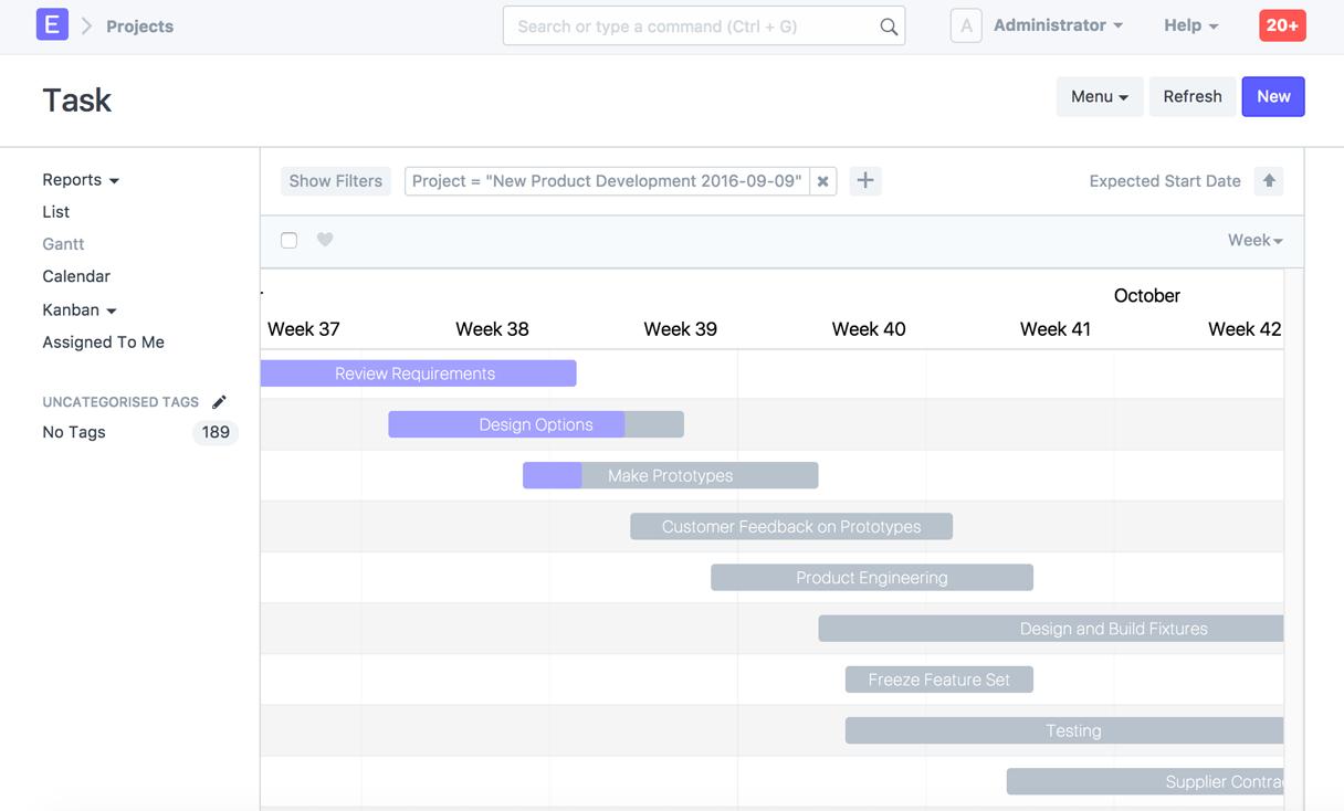 erpnext-project-management