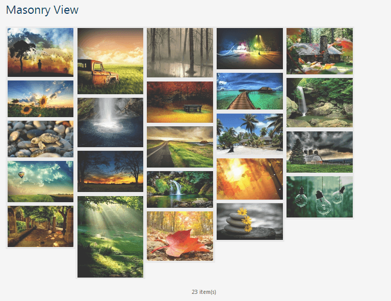 masonary-view-gallery-wordpress