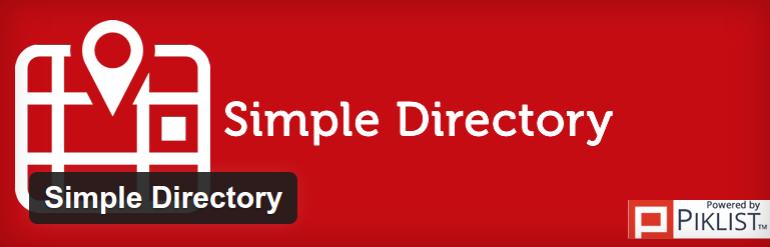 Simple Directory Plugin