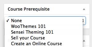 course-prerequisite-sensei