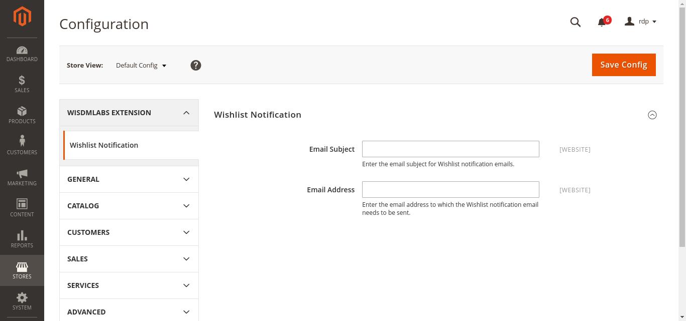 magento-wishlist-notifications-settings