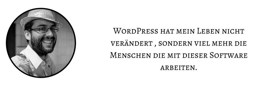 Hans WordPress Menschen