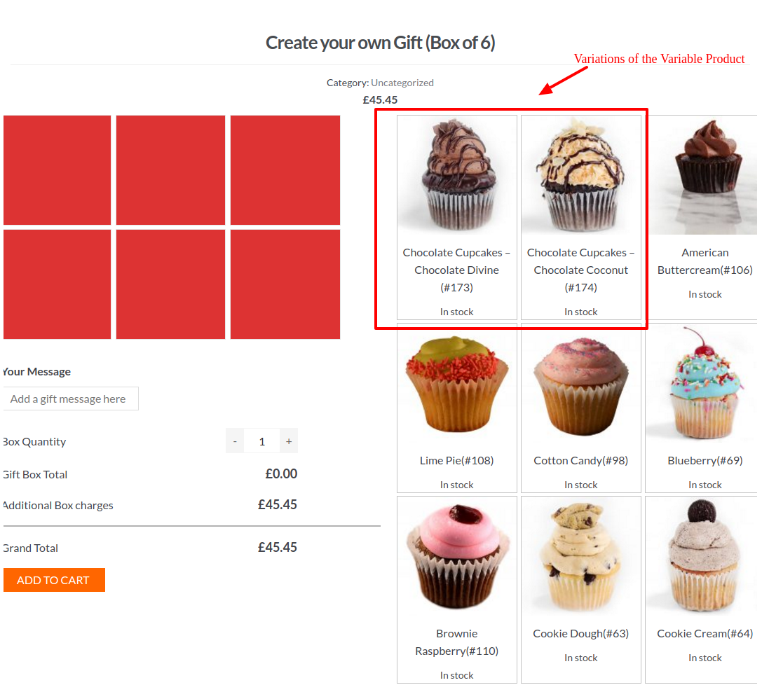 how to create sizes in woocommerce