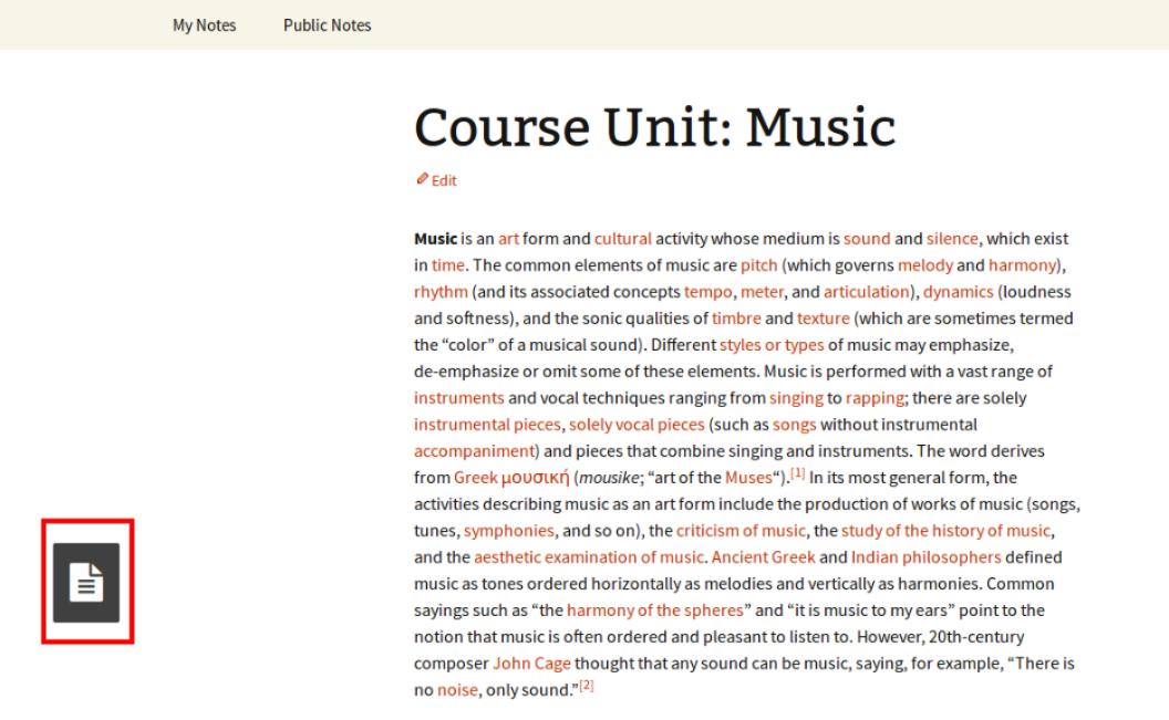 Course Unit