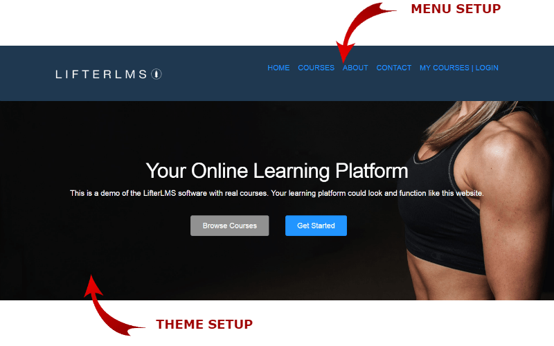 lifterlms-homepage