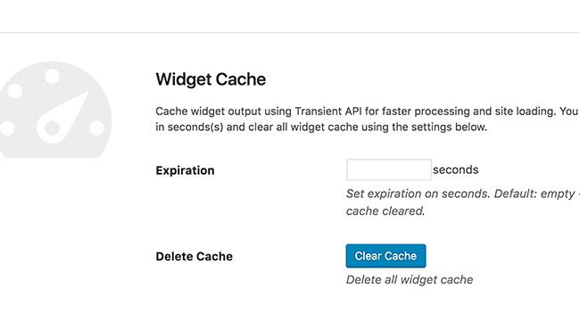 widget-cache