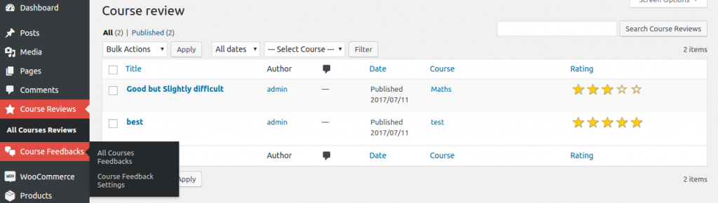 course-review-plugin