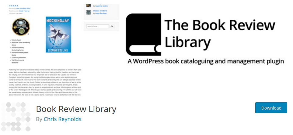 book-review-library-plugin