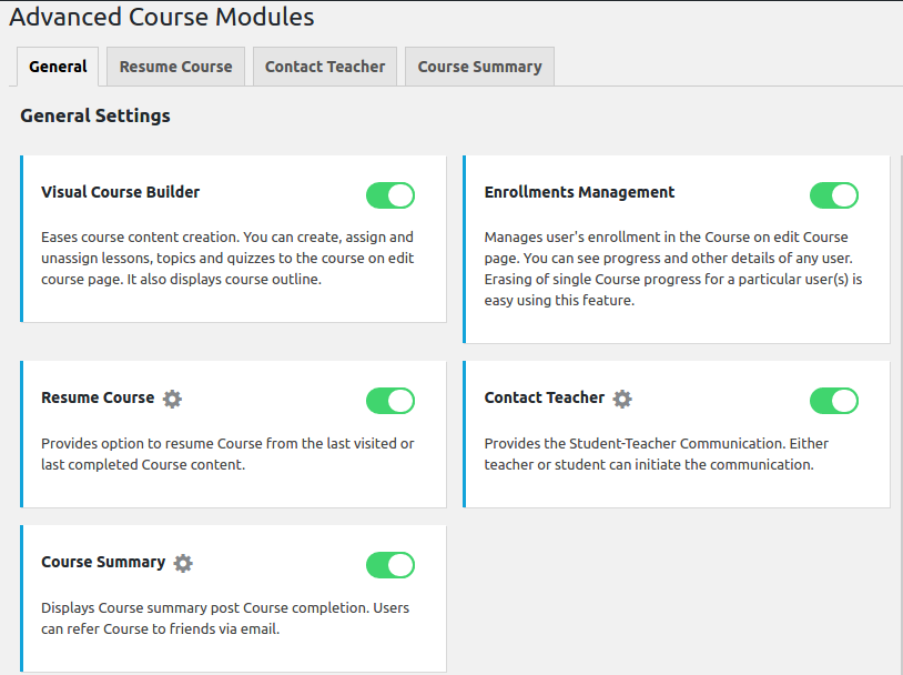 advanced-course-manager-general-settings