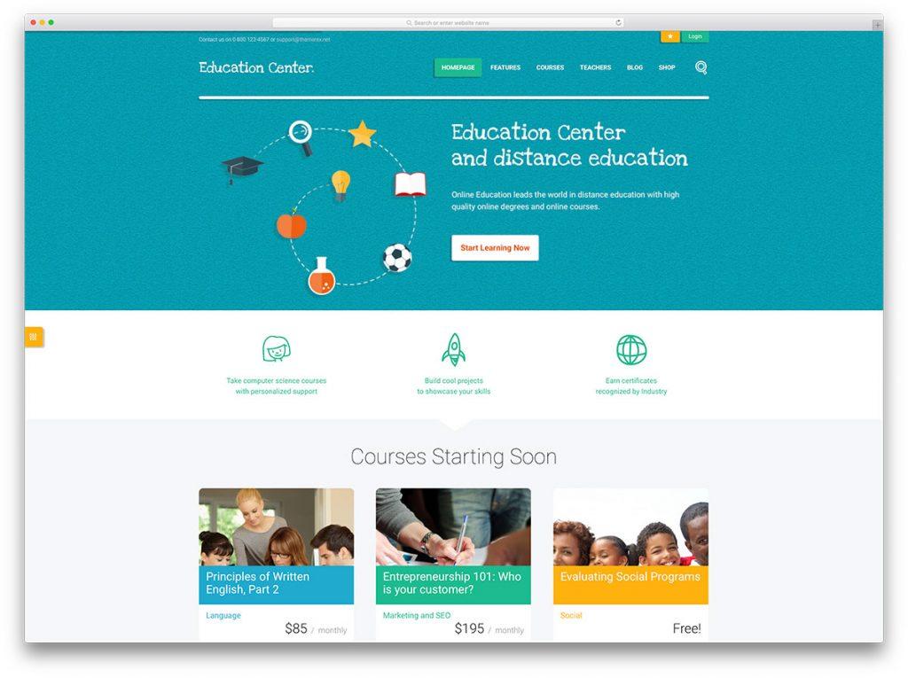 education-center-theme